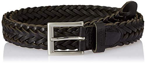 Amazon Brand – Symbol Men's leather Formal Hand Woven Belt