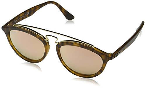 Ray-Ban Womens Sunglasses Tortoise Matte/Pink Plastic - Non-Polarized - 53mm -