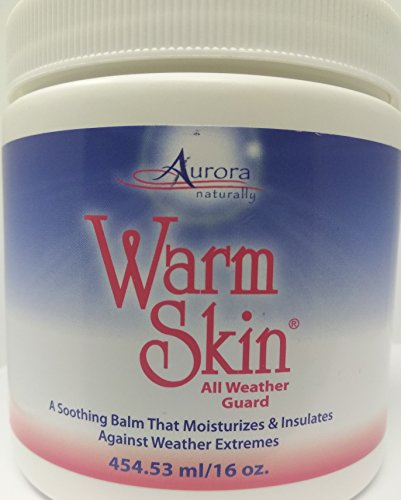 Warm Skin All Weather Guard - Barrier Cream for Skin, Great Cold Weather Protection and Personal Care Aid for Enhanced Circulation (Best Face Cream For Cold Weather)