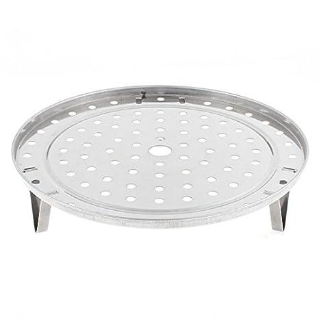Amazon.com: eDealMax redondo de acero inoxidable cocina que cocina vapor del alimento rack 235mm Dia: Kitchen & Dining