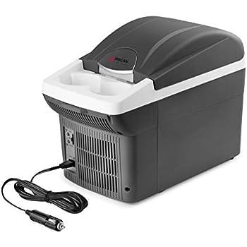Wagan EL6206- 6 Quart 12V Portable Electric Cooler/Warmer for Car, Truck, SUV, RV, Trailer DC Powered