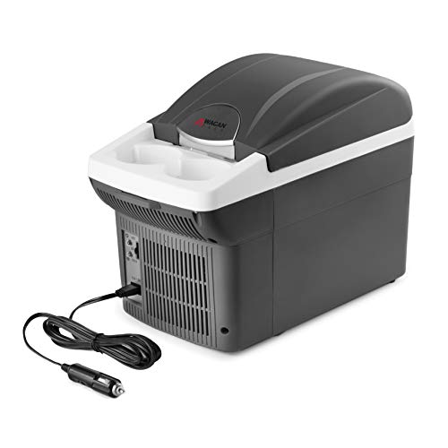 Box No Thermos - Wagan EL6206  - 6 Quart 12V Portable Electric Cooler/Warmer for Car, Truck, SUV, RV, Trailer DC Powered