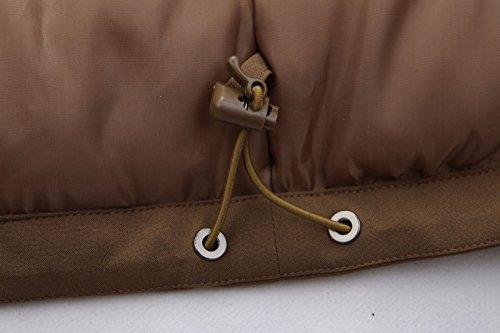 Dimensioni Cappello Tasca Giallo Giacche Cappotto Solido Piumino Dyf Zip Ispessite Grandi Zenzero Colore Fym Con rvz8fvqxwO