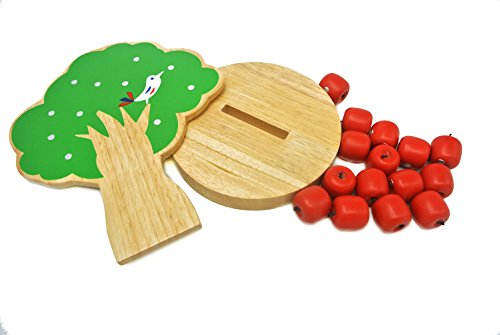 Educational Toys Age 3 : Magnetic apple tree preschool toys for age