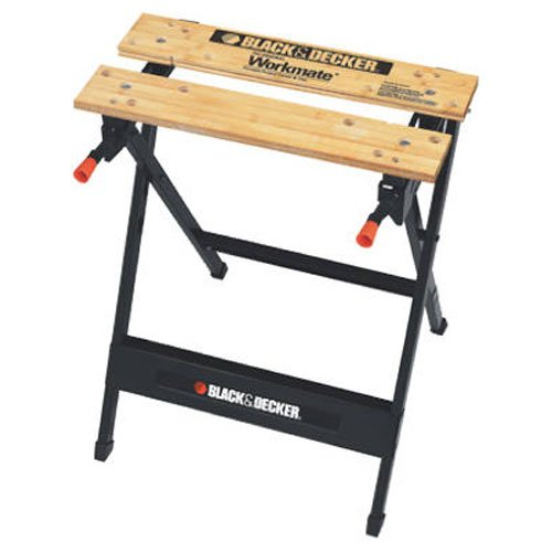 Image of Folding Sawhorse: 4. Black + Decker WM125 Workmate Portable Work Bench