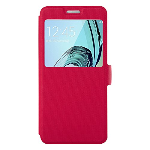 S-View Flip Cover for Samsung Galaxy A5 (Pink) - 3