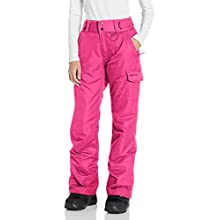 Arctix Women's Snow Sports Insulated Cargo Pants, Rose, Small