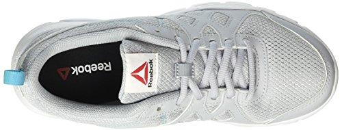 Donna Blue Trainfusion White Reebok cloud crisp Grey black Nine Sneaker Grigio Btq1q8