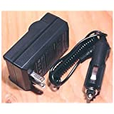 Sony HandyCam DCR-HC38, DCR-HC38/E Digital Camcorder Compatible Battery Charger with Car Adapter - Bargains Depot®