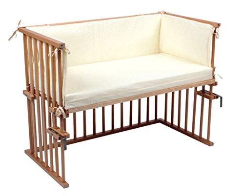 beistellbett anstell babybett zustellbett 88 x 44 cm komplettset bettmix. Black Bedroom Furniture Sets. Home Design Ideas