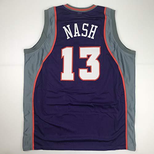 Unsigned Steve Nash Phoenix Purple Custom Stitched Basketball Jersey Size Men's XL New No Brands/Logos