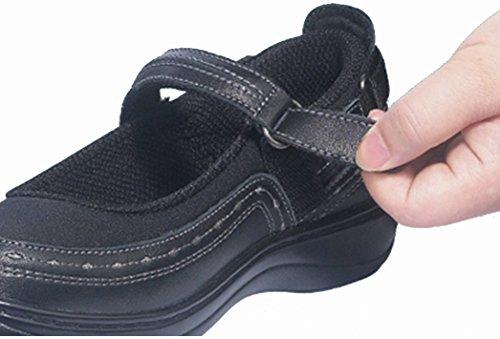Orthofeet 877 Kvinders Komfort Diabetisk Terapeutisk Ekstra Dybde Sko Lycra Velcro lrWdWFr9