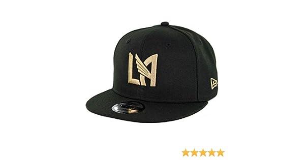 newest collection 3f86c 9ff4c Amazon.com   New Era 9Fifty Los Angeles Football Club Snapback Hat (BK)  Men s LAFC MLS Cap   Sports   Outdoors