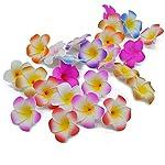 20pcs-Plumeria-Foam-Frangipani-Flowers-Artificial-Headdress-Egg-Flower-Kids-Girl-Hair-Decoration-Wedding-Party-SuppliesWhiteXL