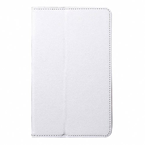 Tab 4 8 Case,Dteck(TM) Samsung Galaxy Tab 4 8.0 Smart Shell Case Ultra Slim Lightweight Stand Folio Case Cover with Auto Sleep/Wake Feature for Samsung Galaxy Tab 4 8-inch T330 T335 T337A,White (Folio Inch 8 Tab 4 Samsung Galaxy)