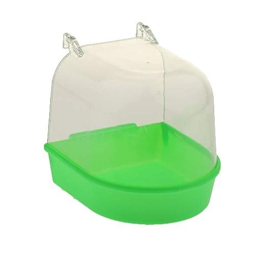 Baño De Plástico Transparente Para Pájaros Para Periquitos ...