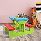 Costzon Kids Picnic Table Set Children Junior
