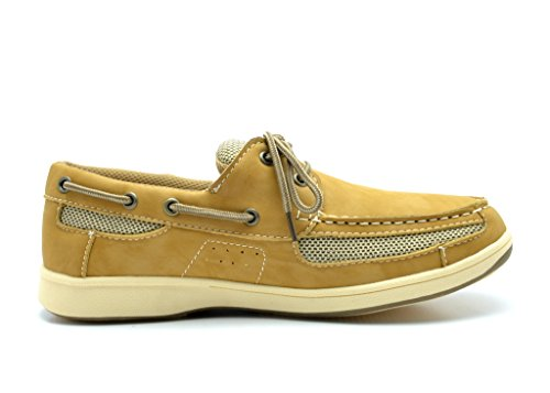 KINGSHOW Mens M1525 Boat Shoes