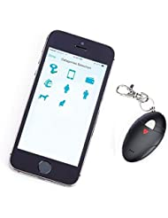 Royce 505-BLACK-ST Mens Bluetooth Key Finder, Black