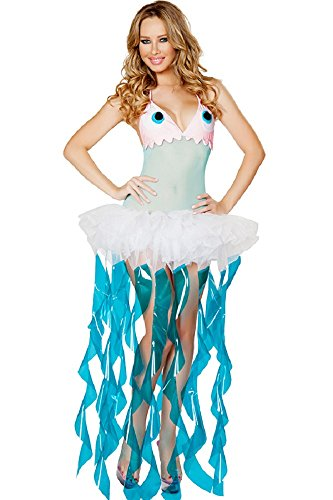 Withchic Halloween Party Deluxe Jellyfish Costume -