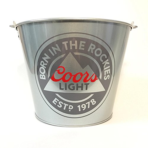 Coors Light Bucket - Born In The Rockies - 2018 Design (Coors Case Light)