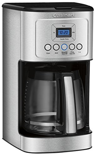 Cuisinart Glass Carafe Handle Programmable Coffeemaker