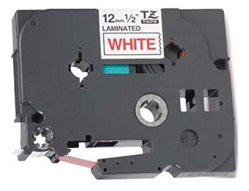 5x Nastro per Etichette compatibile per TZe231 TZ231 Nero su Bianco 12mm x 8m per Brother P-Touch PT-1000 1005 1010 3600 9600 D210 D600VP E300VP E550WVP H101C H101GB H105 H110 H300 H500 P700 P750W