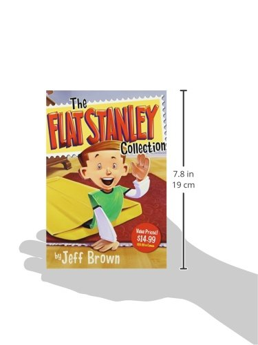 The Flat Stanley Collection Box Set: Flat Stanley, Invisible Stanley, Stanley in Space, and Stanley, Flat Again! by Harper Collins (Image #2)
