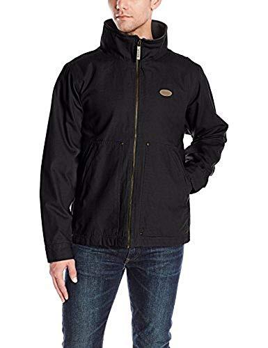Backpacker Full Zip Canvas Jacket, Black, X-Large