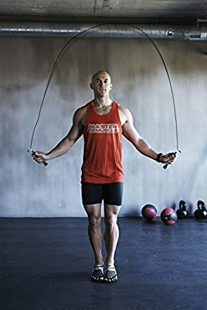Jump Rope - Master Double Unders and Smash Your Workout - With Bonus  Fitness Training Ebook, Speed Rope Carry Case, Outdoor Jumprope Cable  Protector