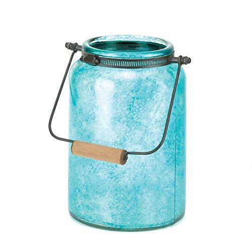 Gallery of Light Blue Mason Jar Candleholder