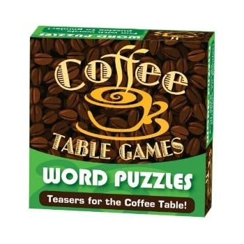 Amazon Com Coffee Table Games Word Puzzles Toys Amp Games