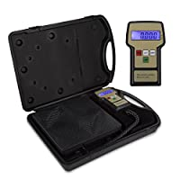 VIVOHOME High Precision Electronic Digital Refrigerant Charging Weight Scale with Case for HVAC 220LB by VIVOHOME