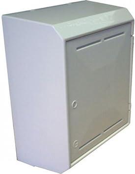 Caja para contador de gas, color blanco, MARK/MK 2/II: Amazon.es: Bricolaje y herramientas