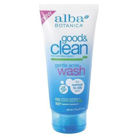 Alba Good & Clean Gentle Acne Wash- 6oz