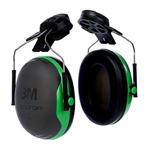 Cap-Mounted Ear Muff, NRR 21, Blk/Grn (Cap Mounted Earmuff)