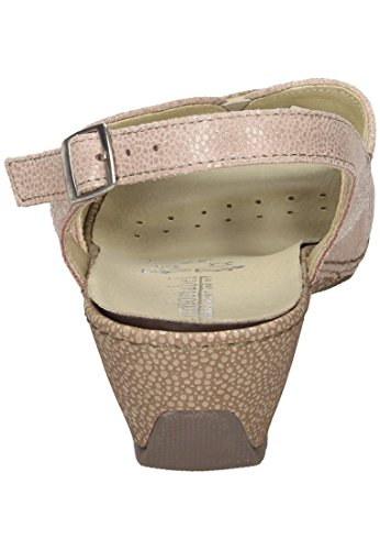 Comfortabele Womens-sandale Rosa 710862-42 Koraal / Sienna