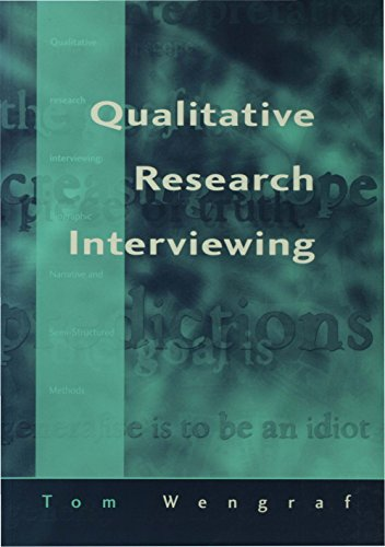 Qualitative Research Interviewing: Biographic Narrative and Semi-Structured Methods Pdf