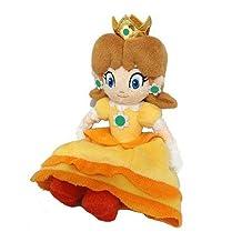 Little Buddy Super Mario Bros 8-Inch Princess Daisy Plush