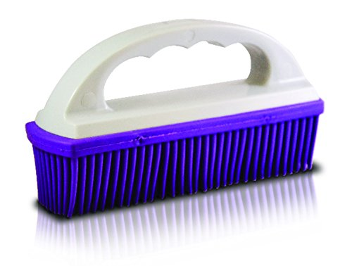 Ma-Fra Pet Hair Removal Brush, Rubber Bristles, Suitable for Seats, Carpets and Cushions