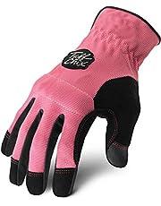 Ironclad Tuff-Chix Evolution Gloves, Medium, Pink