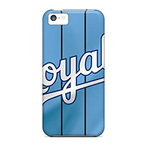 Marycase88 Iphone 5c Shock Absorbent Hard Phone Cover Provide Private Custom Nice Kansas City Royals Skin [cXg12639JheB]