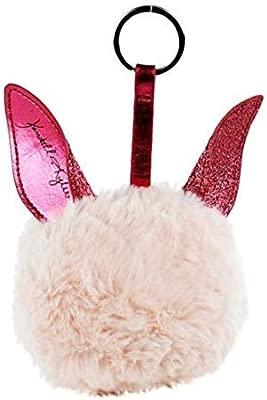 Llavero con pompón rosa de felpa de Kendall & Kylie, en caja ...