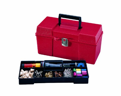 Stack-On GMR-13 13-Inch Multi-Purpose Handy Storage Box with Tote Tray, (Handy Tray)