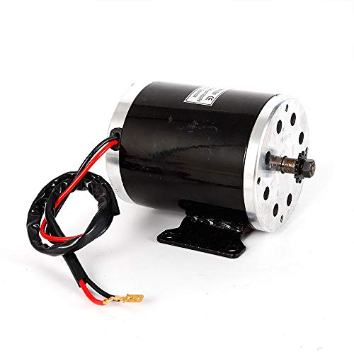 BSTOOL 24V DC 500W Permanent Magnet Electric Brush Motor Generator DIY w Base for Go-Kart Scooter
