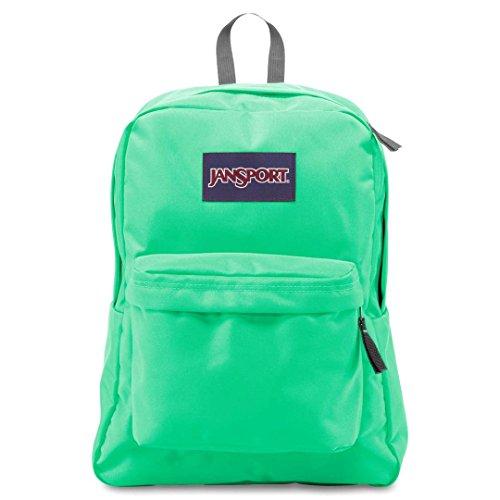 JanSport Superbreak Backpack- Sale Colors (Seafoam Green) (Seafoam Green)
