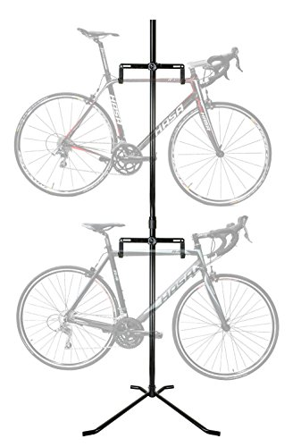 2 Bike Bicycle Floor Rack Stand