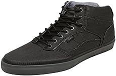 fa30beddb7 Vans Mens Bedford Bio Wash Sneakers Black 6.5