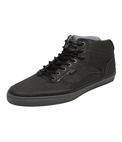 Vans Mens Bedford Bio Wash Sneakers Black 6.5 (Bedford Van Shoe)