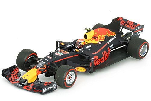 18th Scale Yellow - Minichamps Red Bull – Tag Out rb13-2017 Car Collectible, 110170033, Blue/Red/Yellow